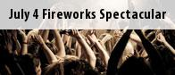 July 4 Fireworks Spectacular Tickets