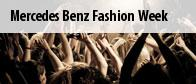Mercedes Benz Fashion Week Tickets